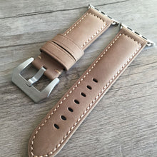 New Arrival Handmade AppleWatch Apple iwatch 1/2 Cow Leather Strap Smartwatch watch band custom made