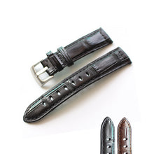 New Arrival Rolex Seiko Cartier Real Alligator Leather Strap watch band custom made 20 21mm