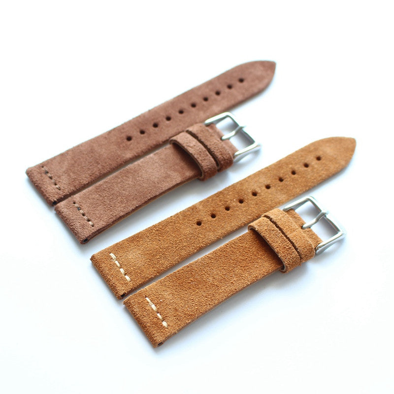 New Arrival Handmade IWC Rolex Seiko Hamilton Real Cow Leather Strap watch band custom made