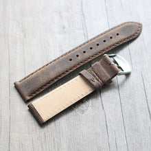 New Arrival Handmade Rolex Seiko Real Cow Leather Strap watch band custom made 20 22MM