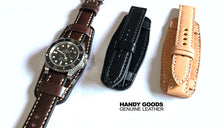 New Arrival Japan Handmad Army For IWC Rolex Seiko Hamilton Omega Panerai Classic Real Cow Leather Strap Watch Band Tailor Made