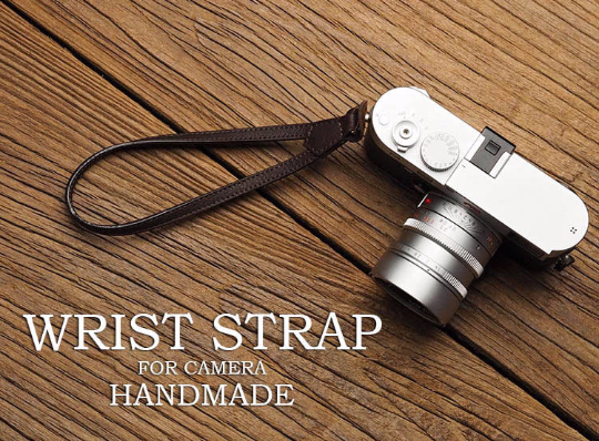 Tailor Handmade Real Cow Crazy Horse Leather Brown Retro Camera Wrist strap slr dslr buckles Leica Nikon Sony Olympus Canon fujifilm Bag