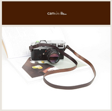 Tailor Handmade Real Cow Crazy Horse Leather Brown gray red Retro Camera strap slr dslr buckles Leica Nikon Sony Olympus Canon fujifilm Bag