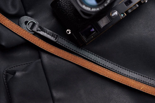Tailor Handmade Real Cow Crazy Horse Leather Fight Black Brown Camera strap slr dslr buckles Leica Nikon Sony Olympus Canon fujifilm Bag
