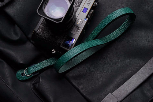 Tailor Handmade Real Cow Crazy Horse Leather Forest Green Retro Camera strap slr dslr buckles Leica Nikon Sony Olympus Canon fujifilm Bag