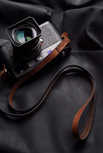 Tailor Handmade Real Cow Crazy Horse Leather japan Brown Retro Camera strap slr dslr buckles Leica Nikon Sony Olympus Canon fujifilm Bag