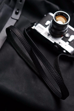 Tailor Handmade Real Cow Crazy Horse Leather wax Black Retro Camera strap slr dslr buckles Leica Nikon Sony Olympus Canon fujifilm Bag