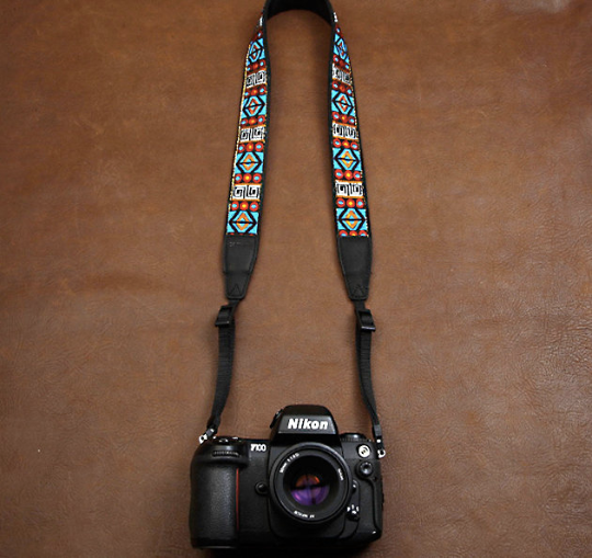 custom printed personalized camera strap. Tag your strap! see sample photos