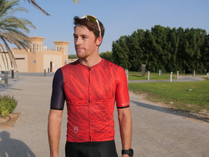 Men's Cocktail Stage2 Jersey - Aubergine