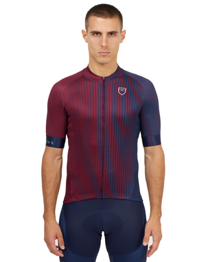 Men's Suit Stage Jersey - Burgundy