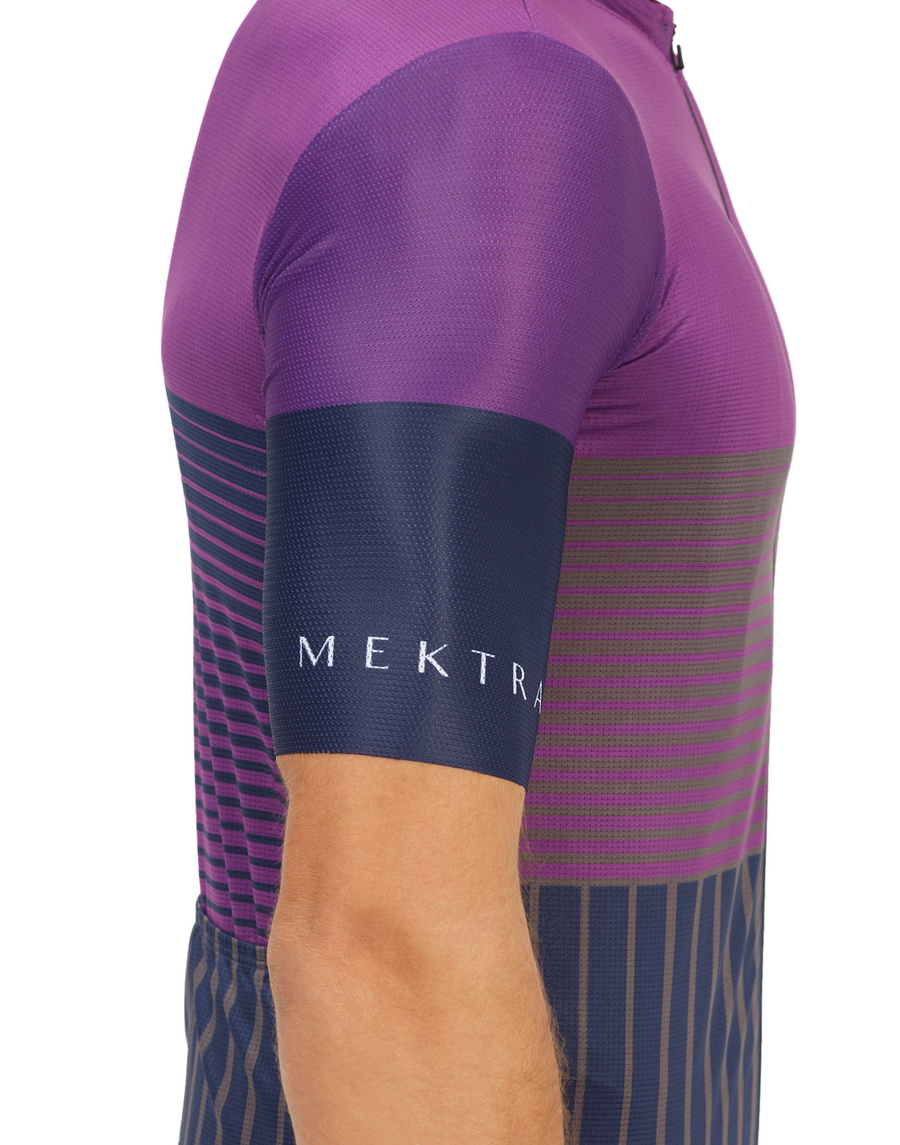 Men's Action Stage Jersey - Purple