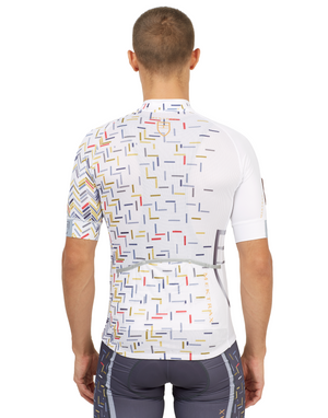 Men's Dégradé Jersey - White