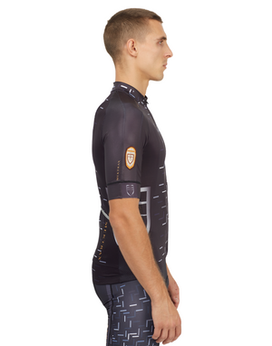 Men's Dégradé Jersey - Black