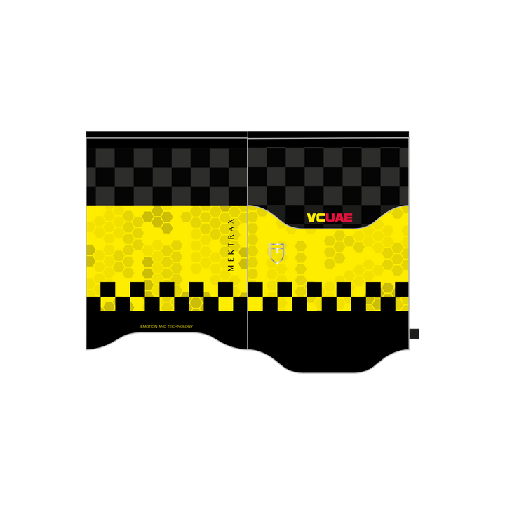 VCUAE Sports Shield - Neon Yellow