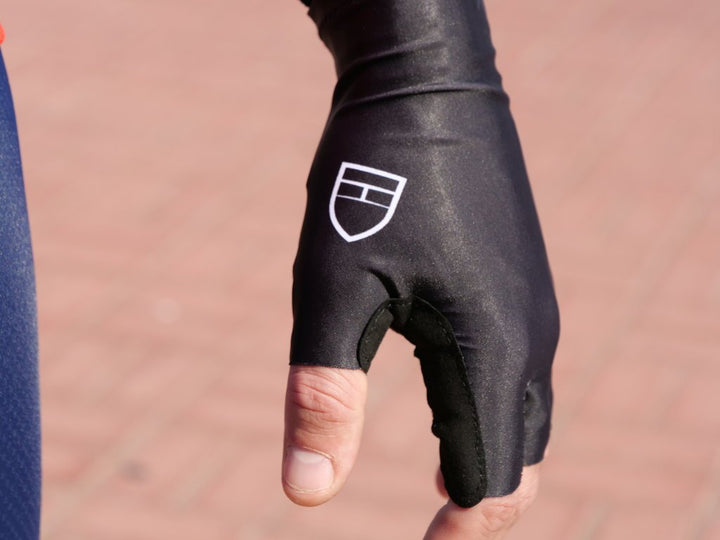 Elite Stage2 Long Cuff Gloves - Black