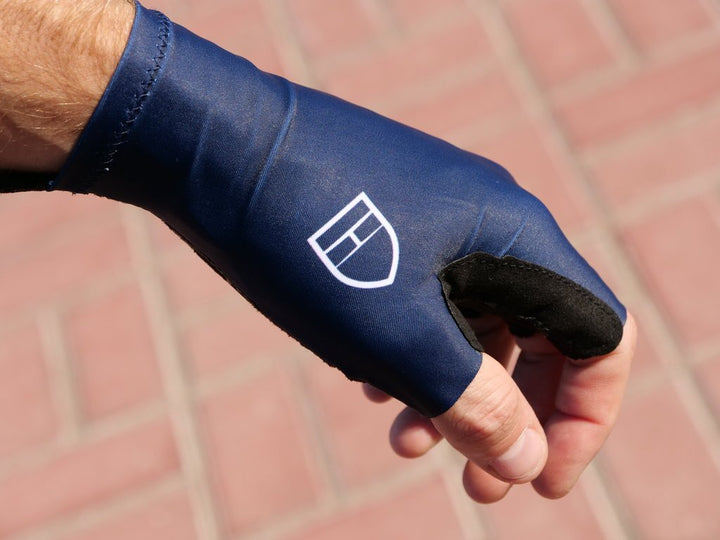 Elite Stage2 Long Cuff Gloves - Navy