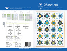Compass Star PAPER Quilt Pattern