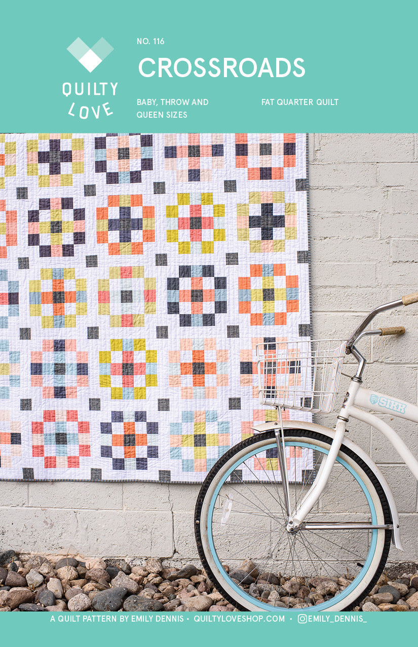 Crossroads PDF Quilt Pattern - Digital Download