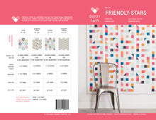 Friendly Stars PDF Quilt Pattern
