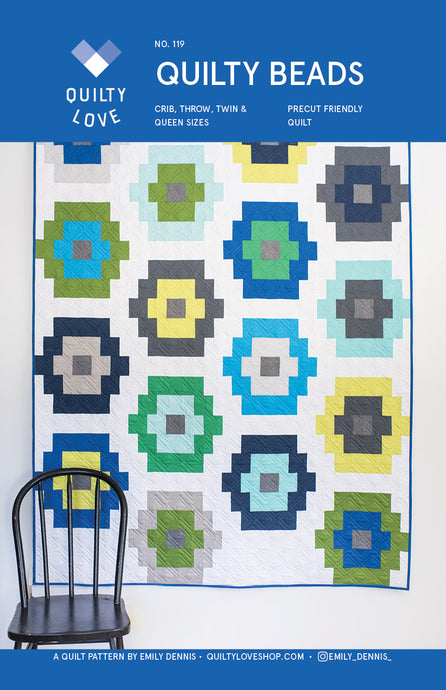 Quilty Beads PAPER Quilt Pattern