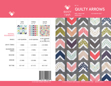 Quilty Arrows PAPER quilt pattern