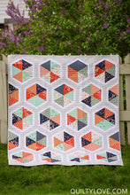 Triangle Hexies PAPER quilt pattern