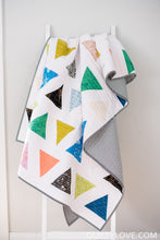 Triangle Pop PAPER quilt pattern