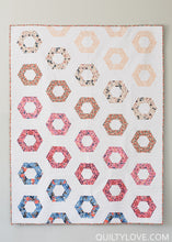Hexie Rows PAPER Quilt Pattern