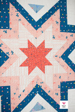 Expanding Stars PDF quilt pattern
