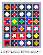 Home Run Baseball Quilt PAPER pattern