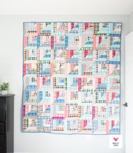 Lucky Log Cabins PDF Quilt Pattern-Automatic Download