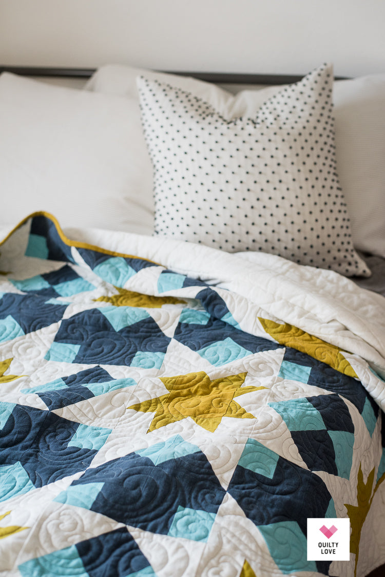 Night Stars Pdf Quilt Pattern Automatic Download Quilty Love