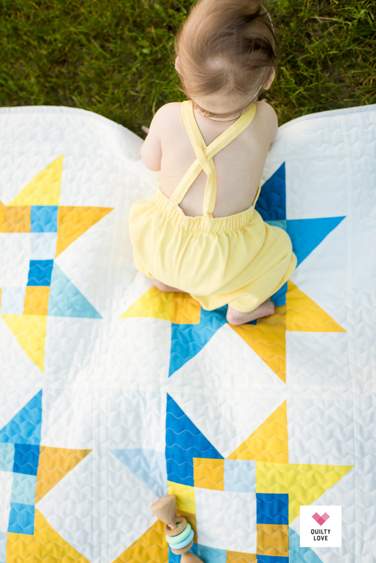 Quilty Stars PDF quilt pattern - Automatic Download – Quilty Love