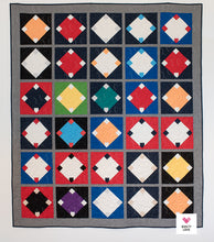 Home Run Baseball Quilt PDF Quilt Pattern-Automatic download