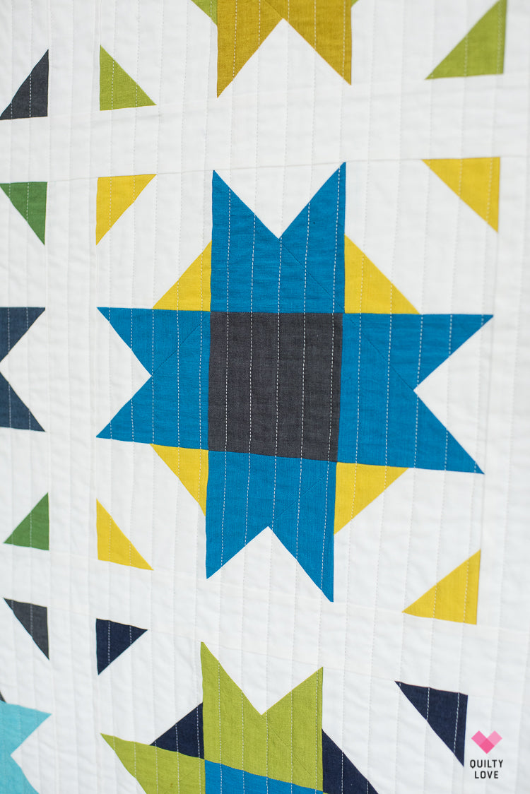 Compass Star PDF Quilt Pattern-Automatic download – Quilty Love