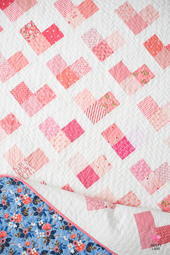 Quilty Hearts Pdf Quilt Pattern Automatic Download