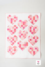 Scrappy Hearts PDF Quilt Pattern-Automatic Download