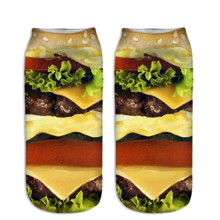 Burger Socks