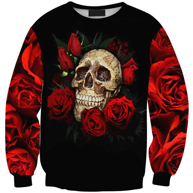 Skull & Rose Sweatshirt