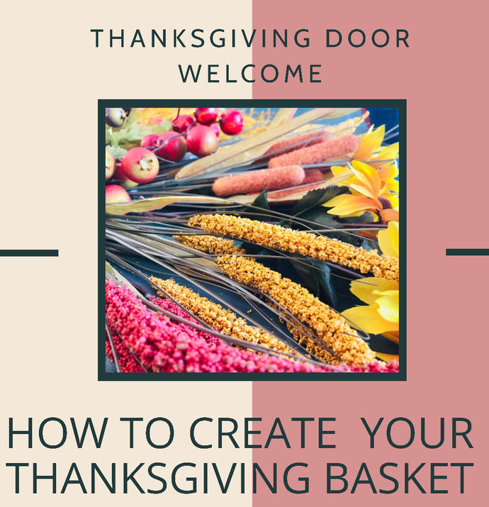 Create Your Thanksgiving Door Basket
