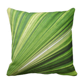 Throw Pillow Tropical Palm