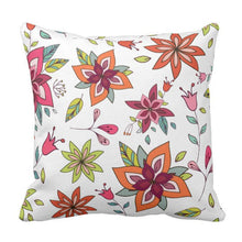 Classic Floral Boho Pillow