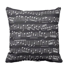 Musical Throw Pillow Life is a Rhapsody