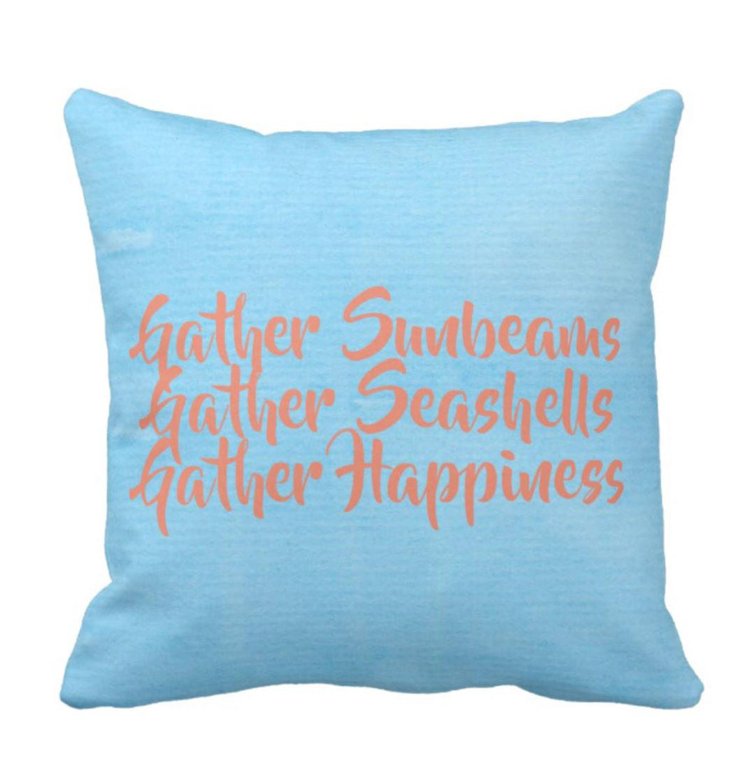 Beach House Decorative Throw Pillow