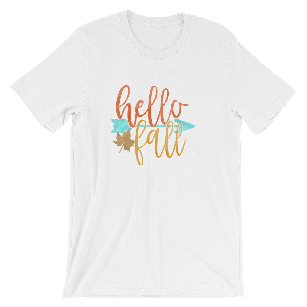 Bella Canvas Unisex T-Shirt Hello Fall
