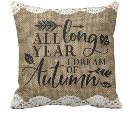 Throw Pillow Fall