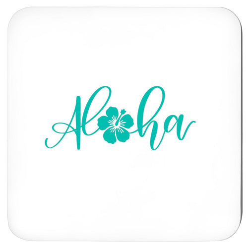 Hawaii, Aloha Tropical Coasters, Set Of 4,