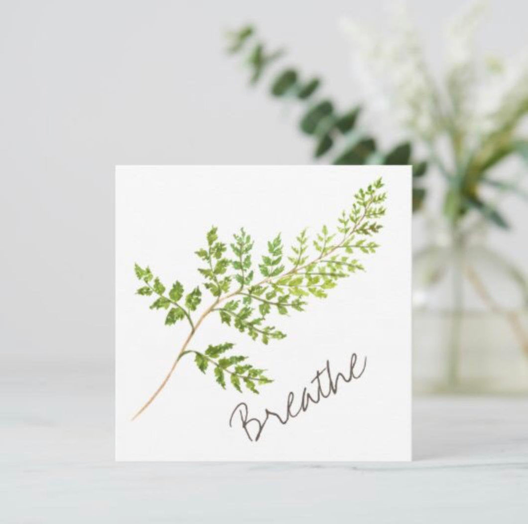 Flat Greeting Card