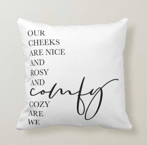 Christmas Pillow, Words
