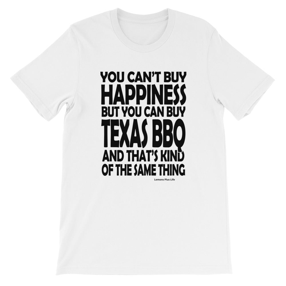 Bella Canvas Texas BBQ Short-Sleeve Unisex T-Shirt